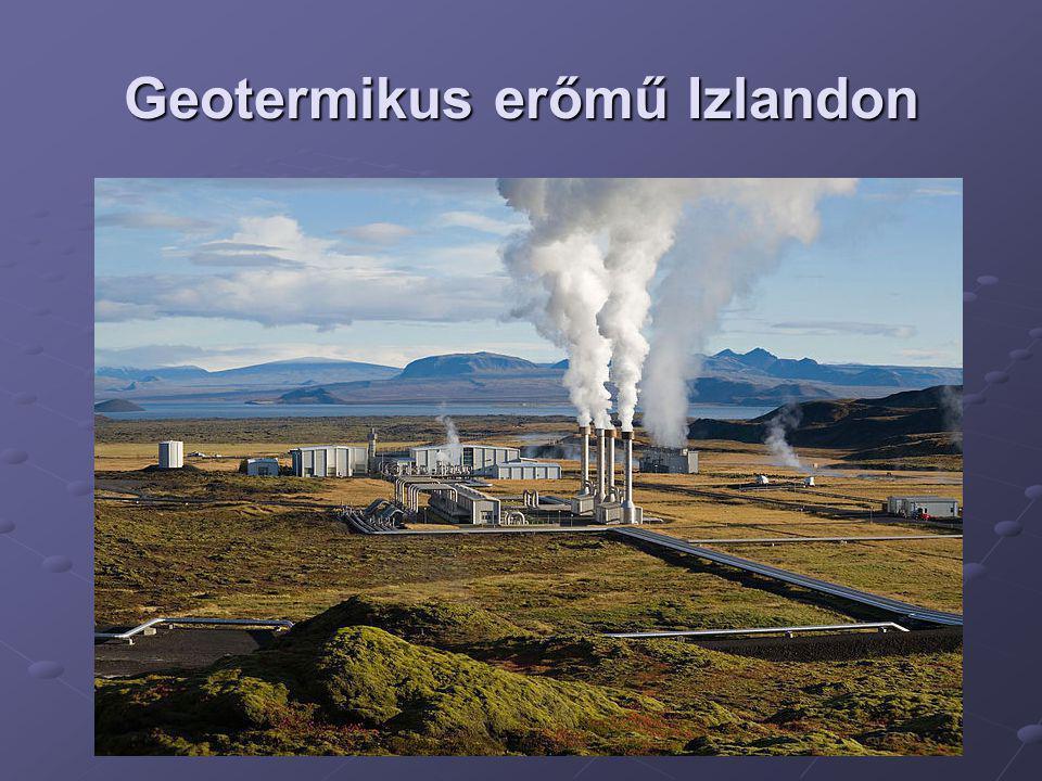 Geotermikus erőmű Izlandon