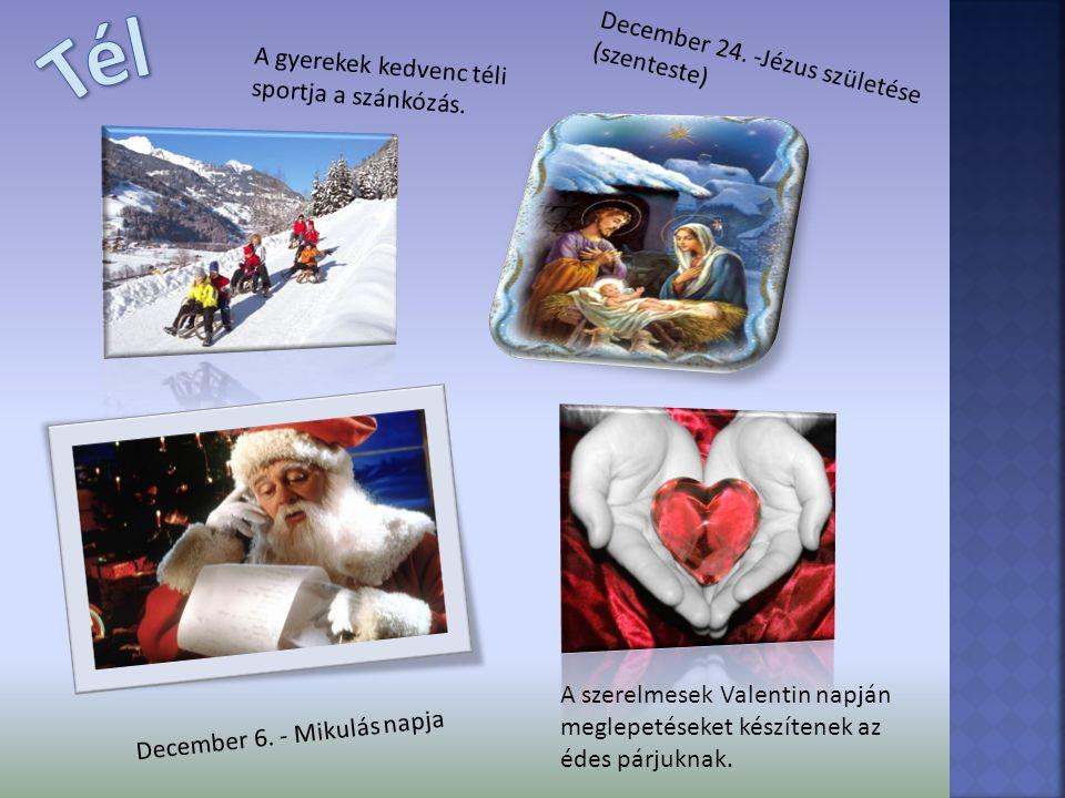 Tél December 24. -Jézus születése (szenteste)