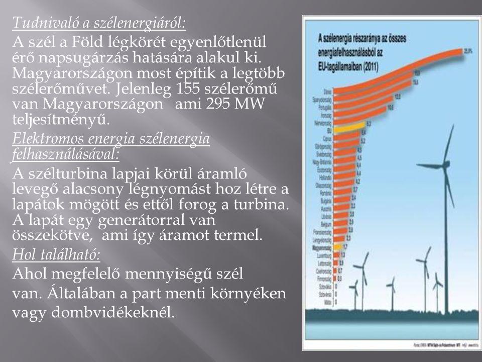 Tudnivaló a szélenergiáról: A szél a Föld légkörét egyenlőtlenül érő napsugárzás hatására alakul ki.