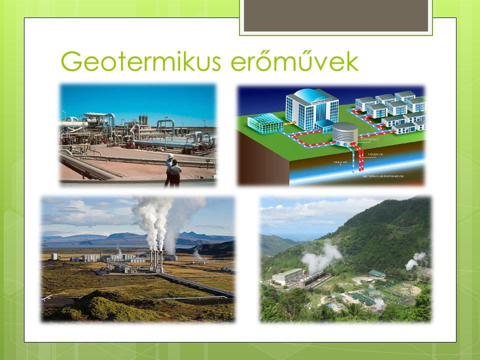 Geotermikus erőművek
