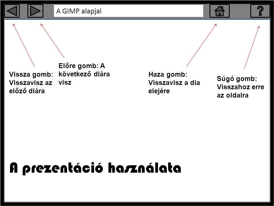 A prezentáció használata