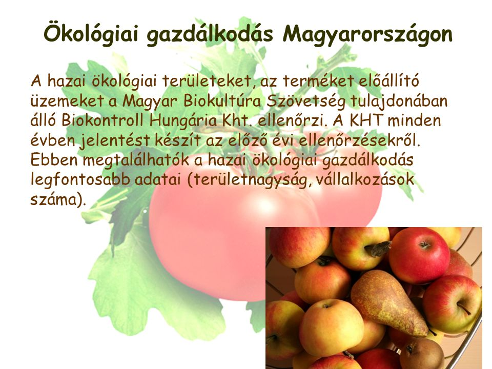 Ökológiai gazdálkodás Magyarországon
