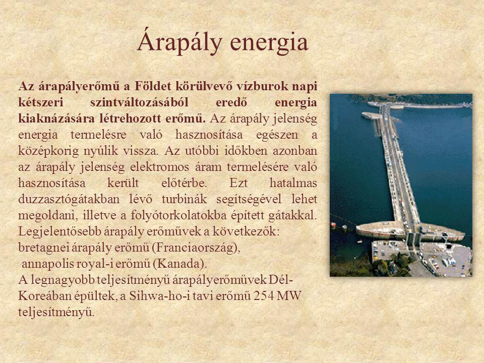 Árapály energia