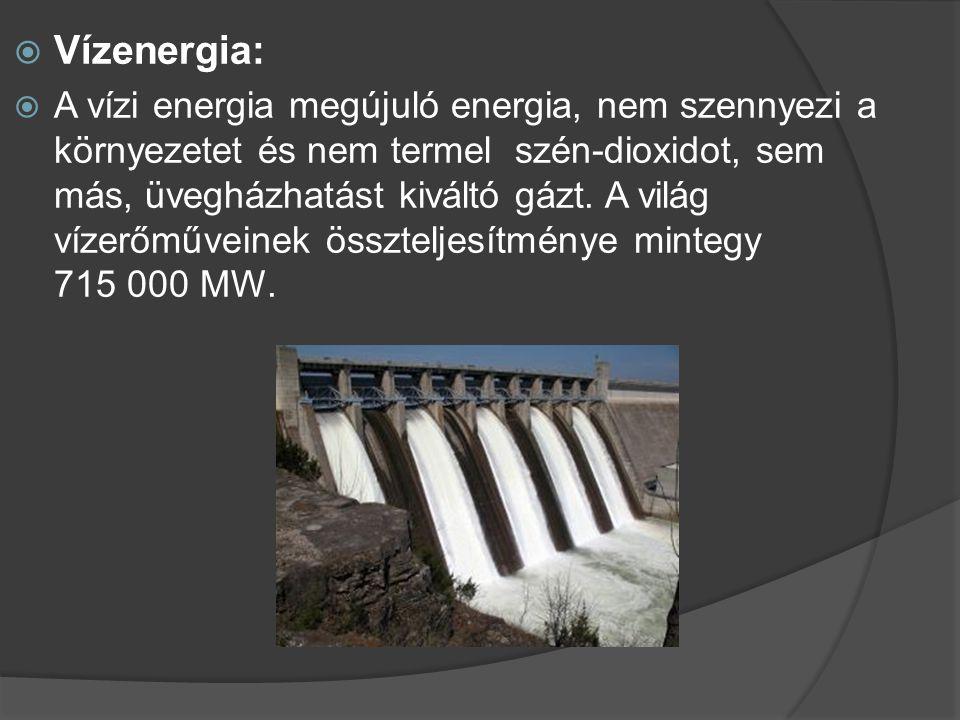 Vízenergia:
