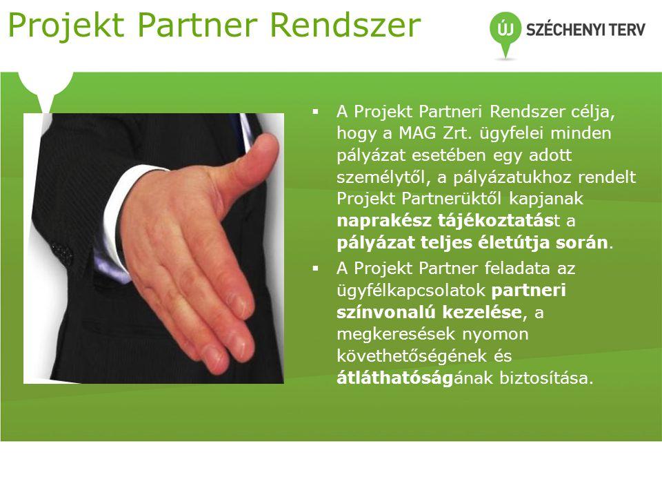 Projekt Partner Rendszer