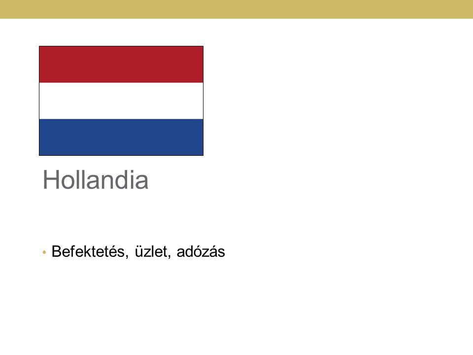 11111111 Hollandia Befektetés, üzlet, adózás