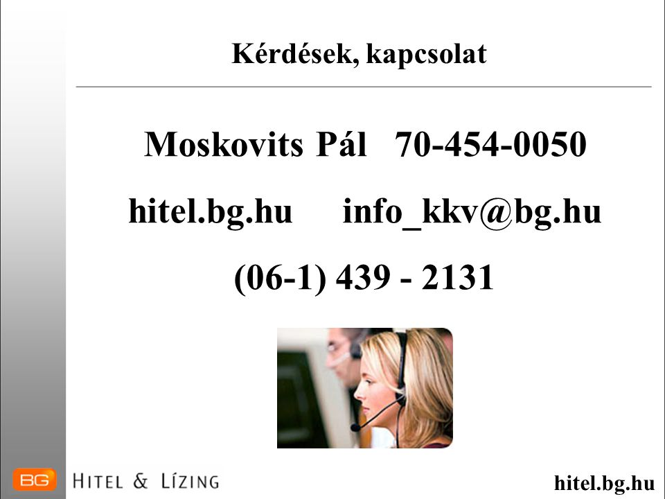 hitel.bg.hu info_kkv@bg.hu