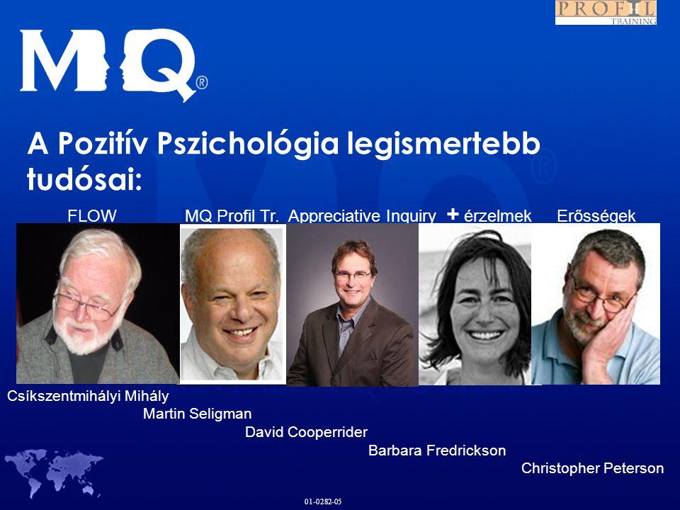 A Pozitív Pszichológia legismertebb tudósai: