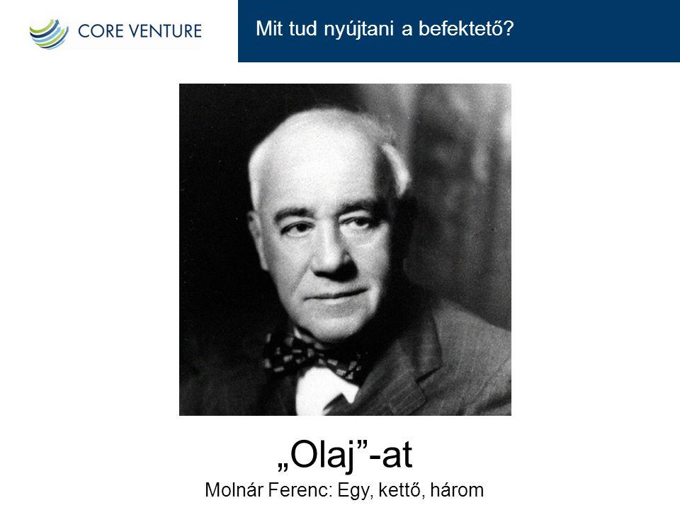 Molnár Ferenc: Egy, kettő, három