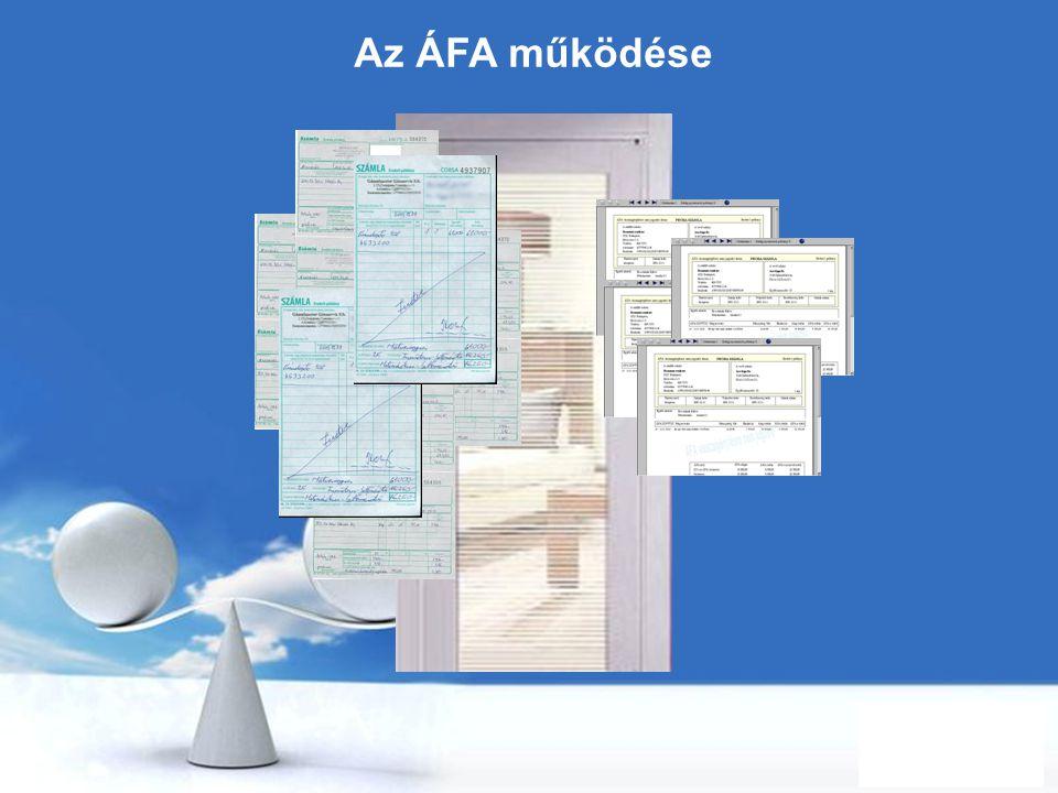 Az ÁFA működése