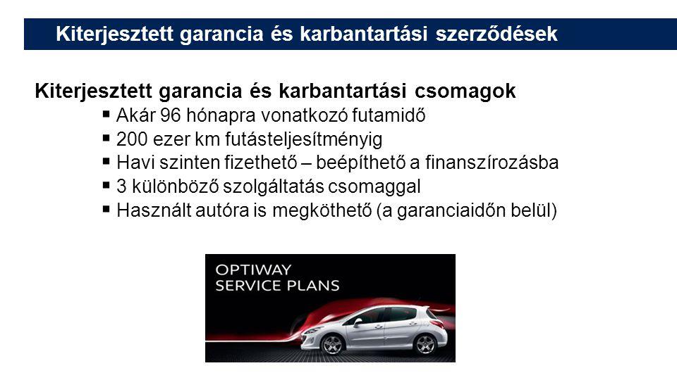 Kiterjesztett garancia és karbantartási szerződések