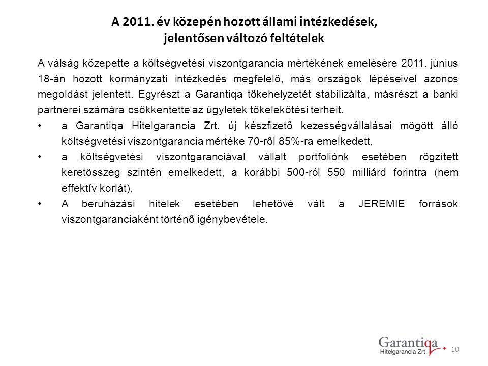 A 2011. év közepén hozott állami intézkedések,