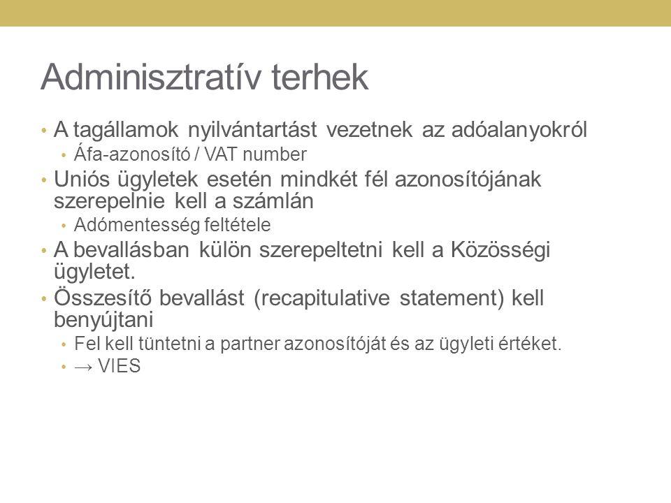 Adminisztratív terhek