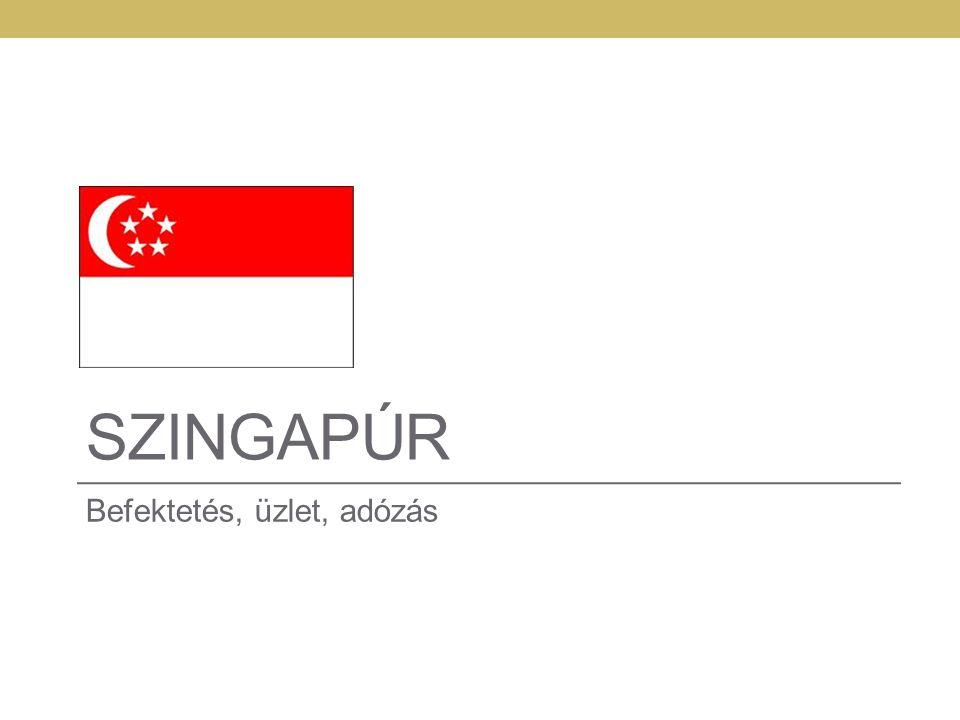 Szingapúr Befektetés, üzlet, adózás