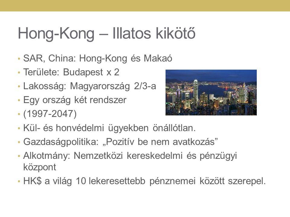 Hong-Kong – Illatos kikötő