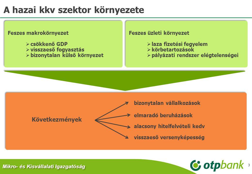 A hazai kkv szektor környezete