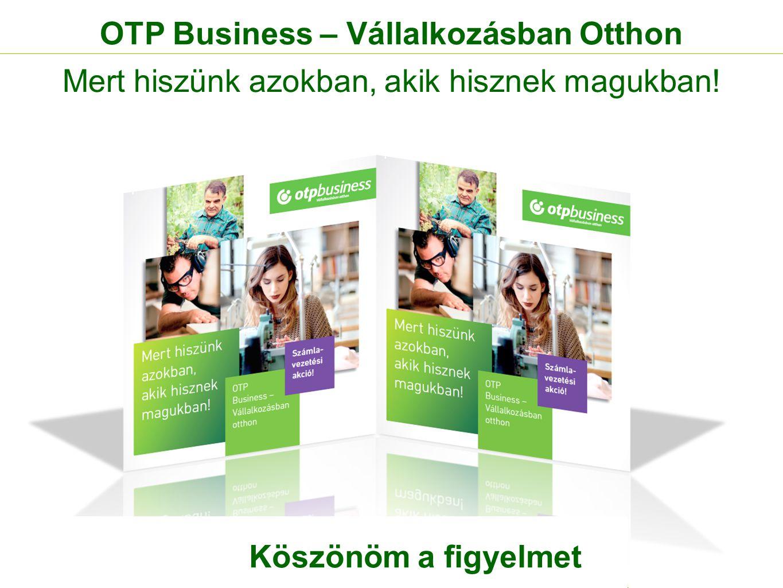 OTP Business – Vállalkozásban Otthon