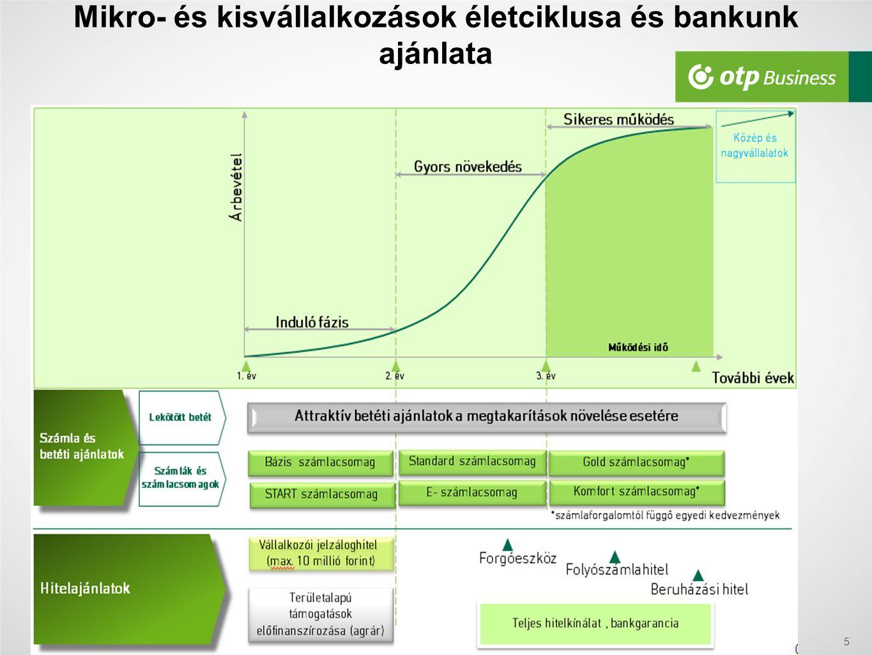 Mikro- és kisvállalkozások életciklusa és bankunk ajánlata