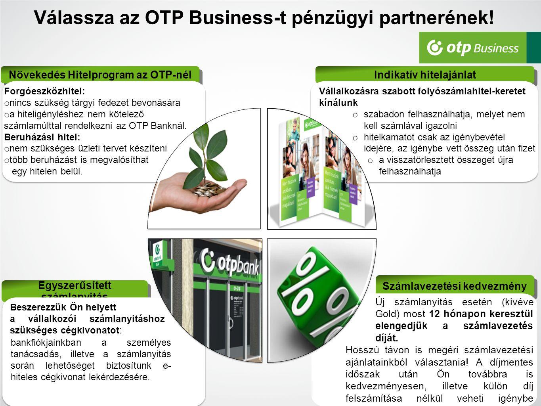 Válassza az OTP Business-t pénzügyi partnerének!