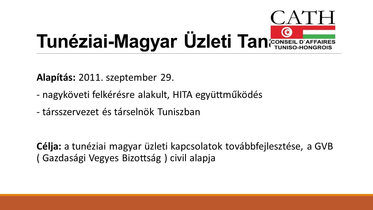 Tunéziai-Magyar Üzleti Tanács