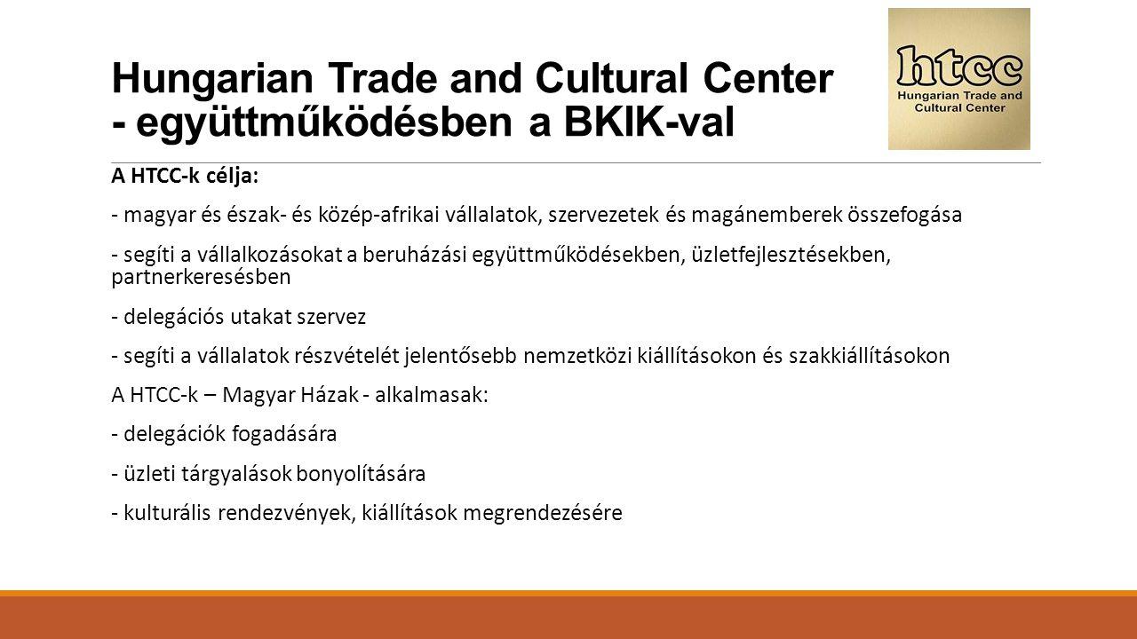 Hungarian Trade and Cultural Center - együttműködésben a BKIK-val