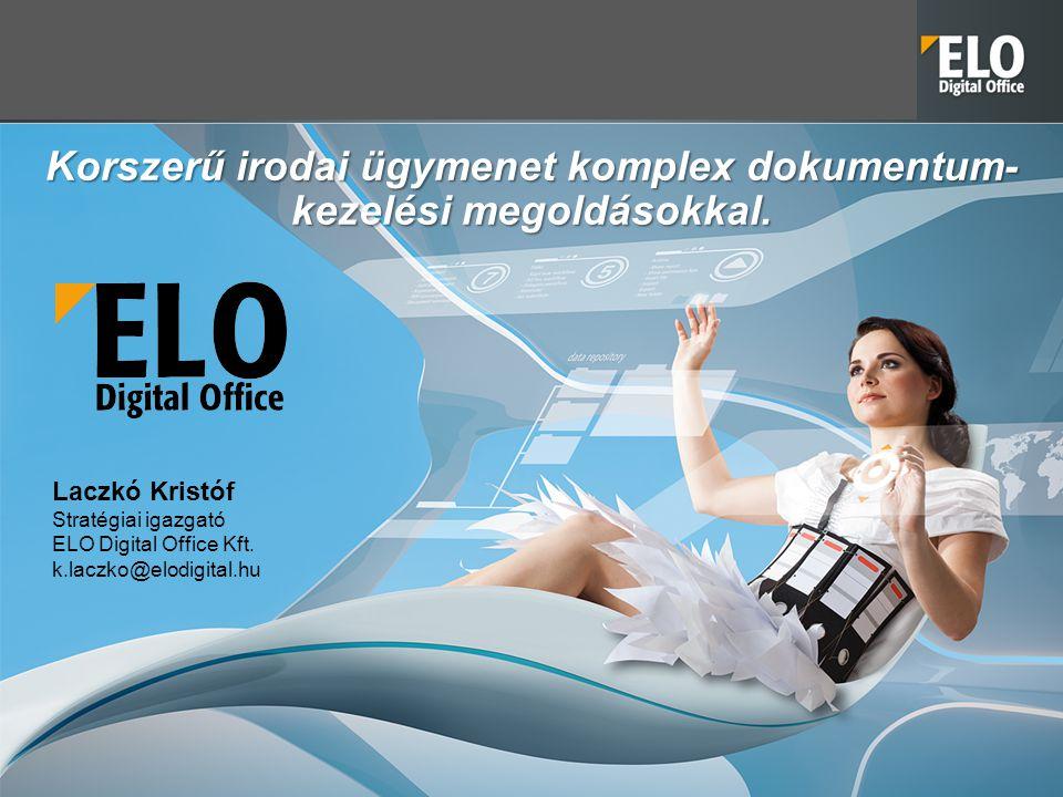 Korszerű irodai ügymenet komplex dokumentum-kezelési megoldásokkal.