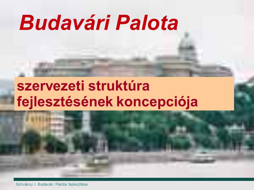 Budavári Palota szervezeti struktúra fejlesztésének koncepciója