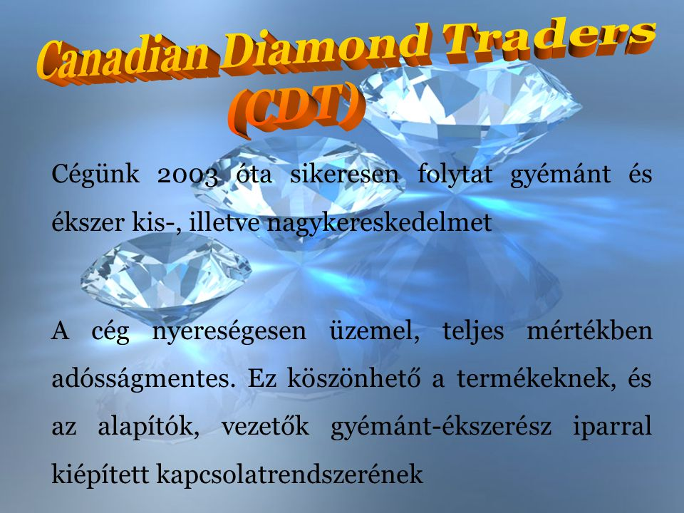 Canadian Diamond Traders