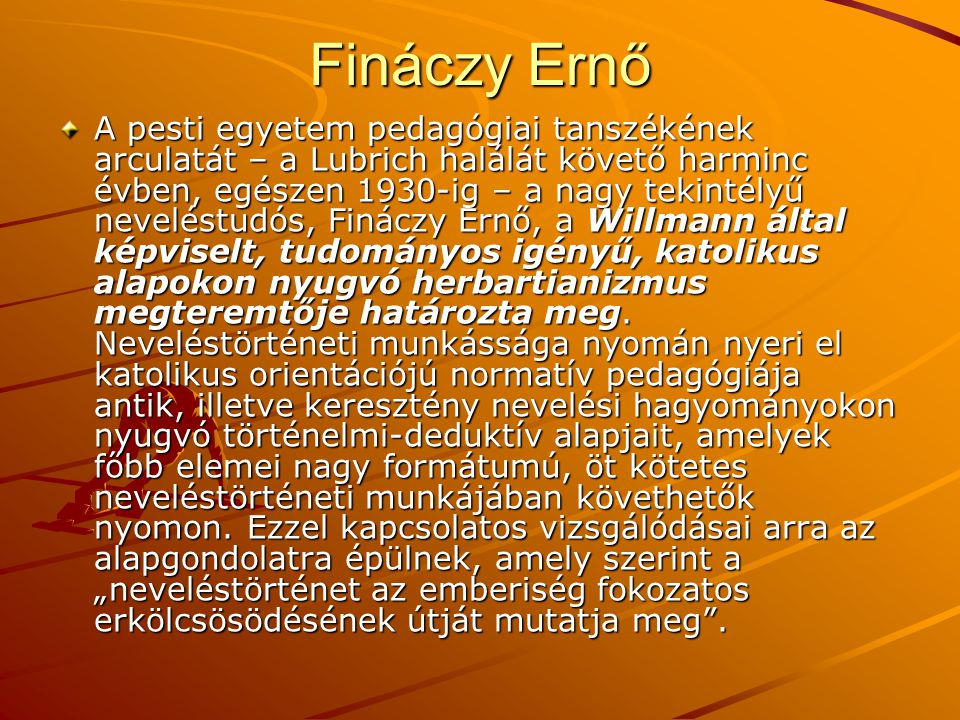Fináczy Ernő