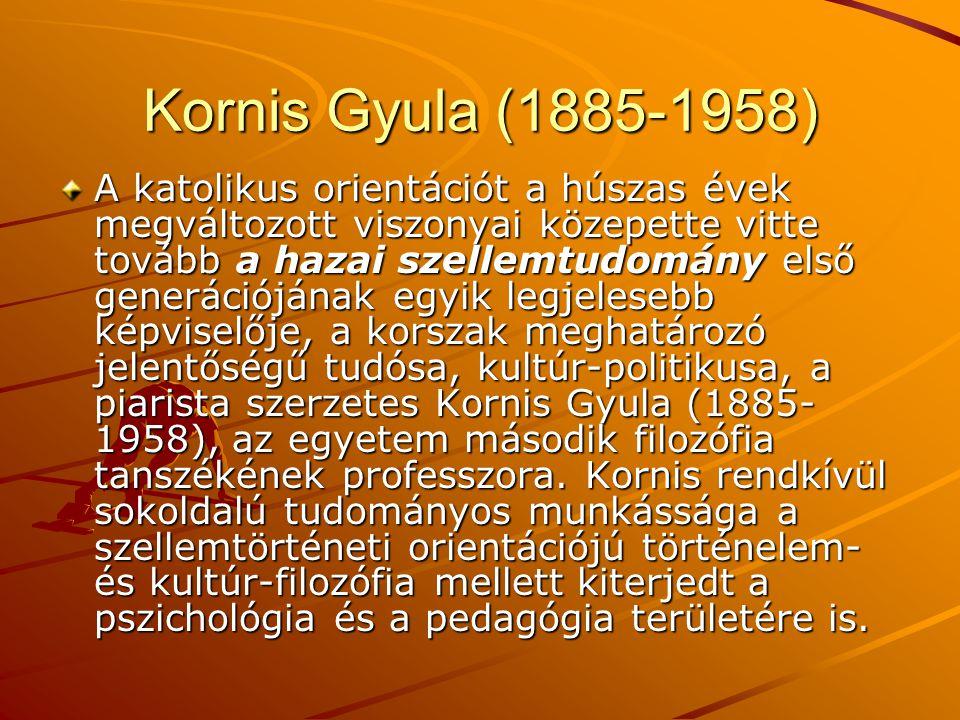Kornis Gyula (1885-1958)