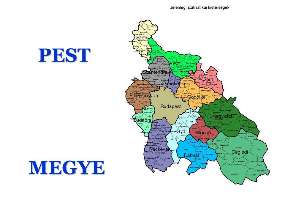 PEST Ez a sziget a szárazföldön Pest megye a mi szűkebb pártiánk, amely a közép- magyarországi régió jelentős meghatározó része .