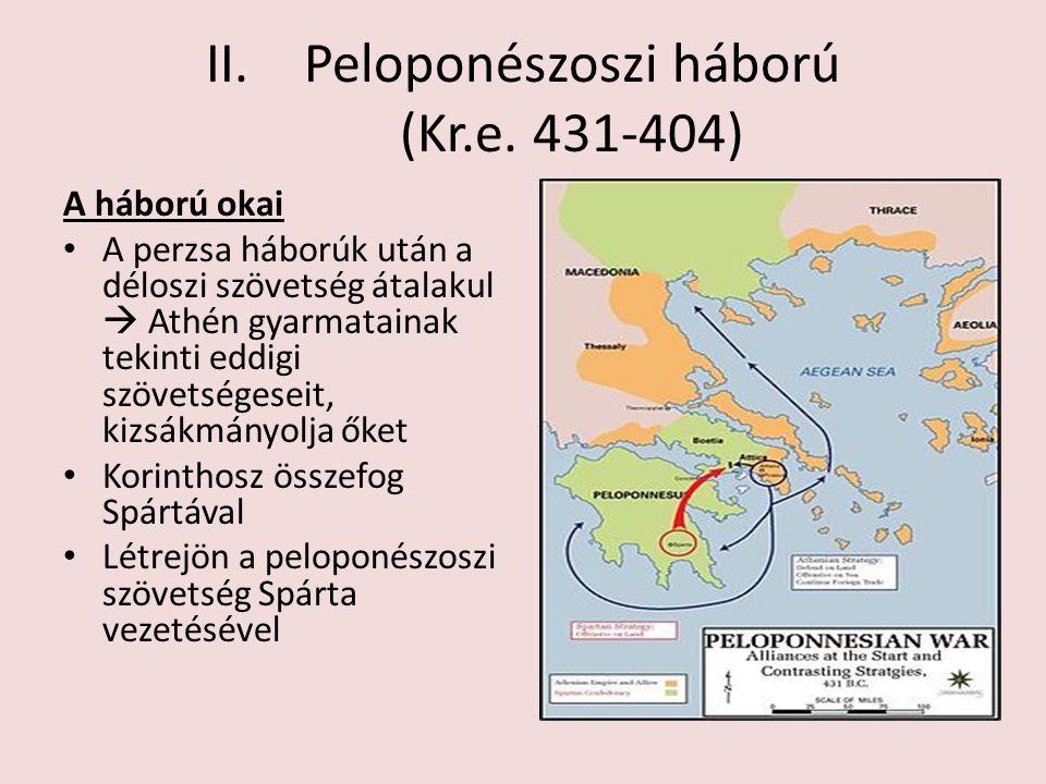 Peloponészoszi háború (Kr.e. 431-404)