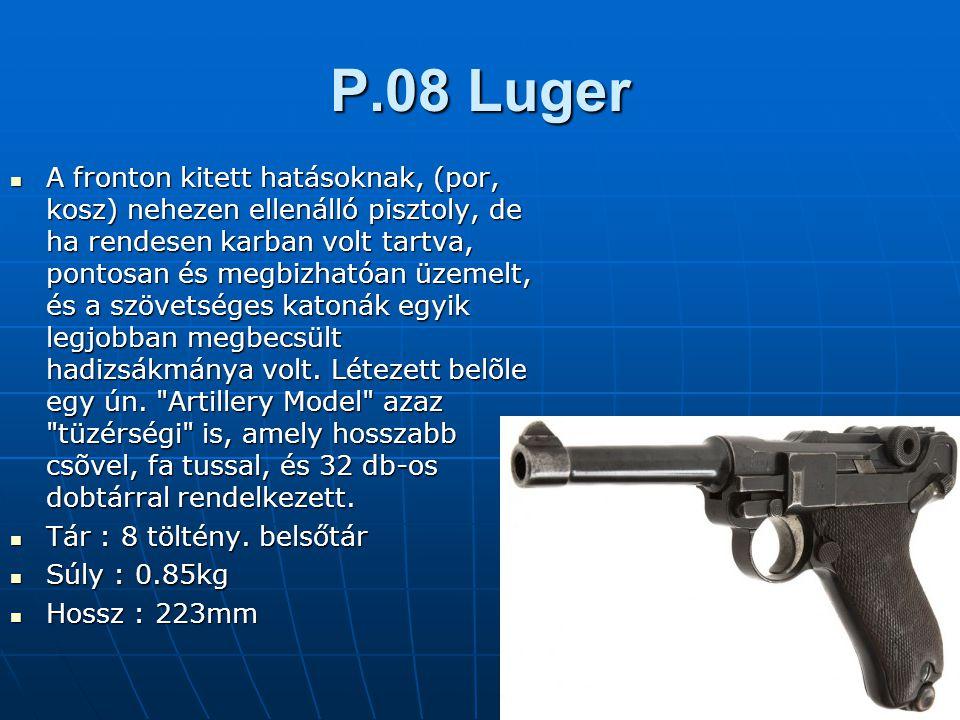 P.08 Luger