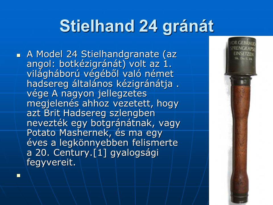 Stielhand 24 gránát