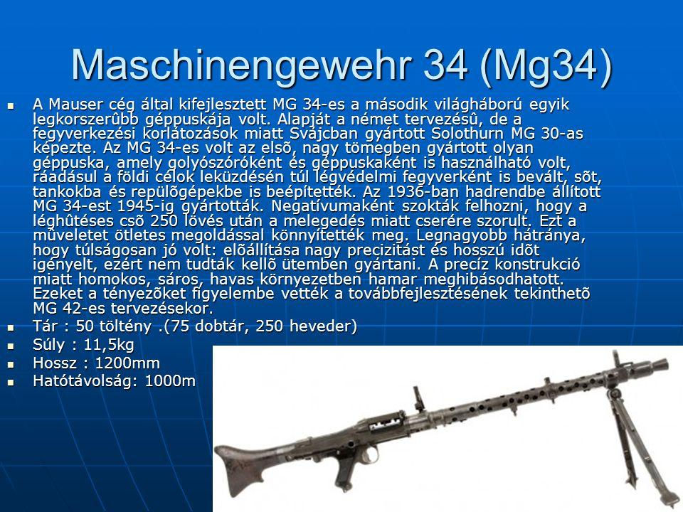 Maschinengewehr 34 (Mg34)