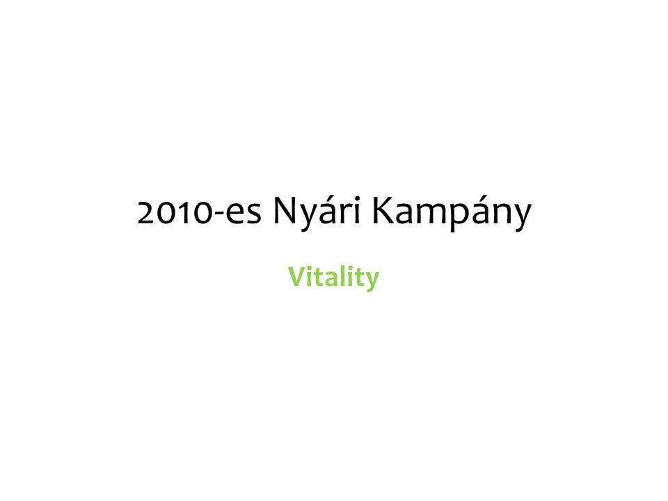 2010-es Nyári Kampány Vitality