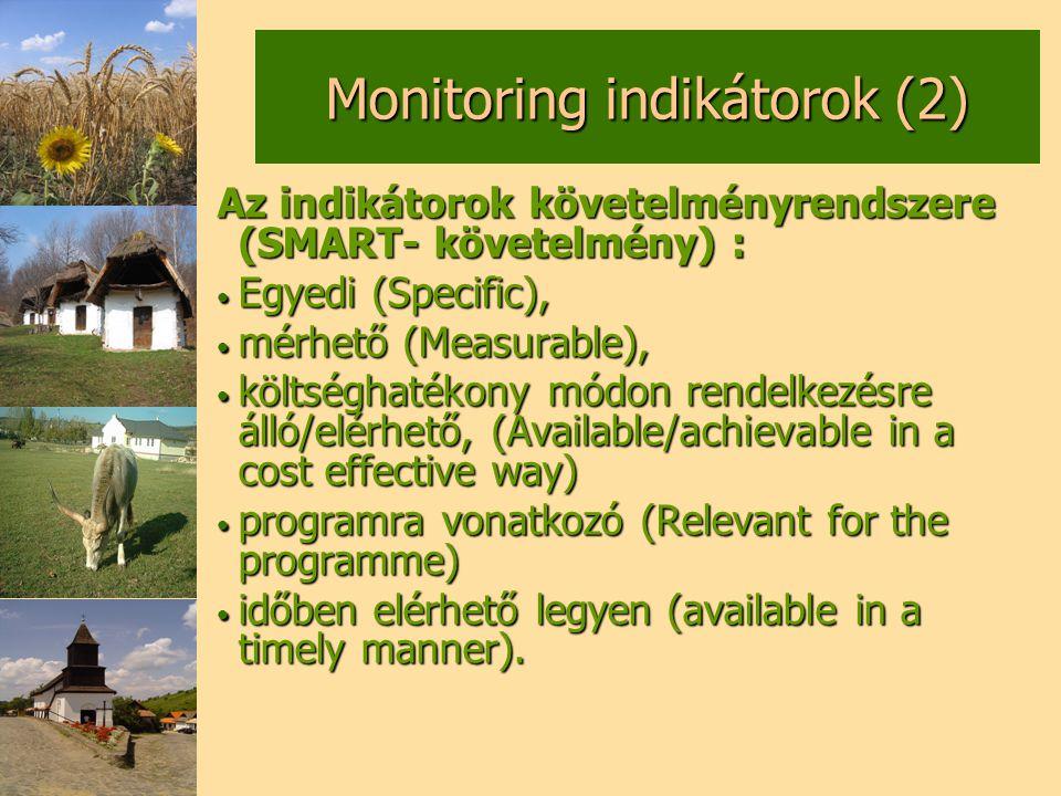 Monitoring indikátorok (2)