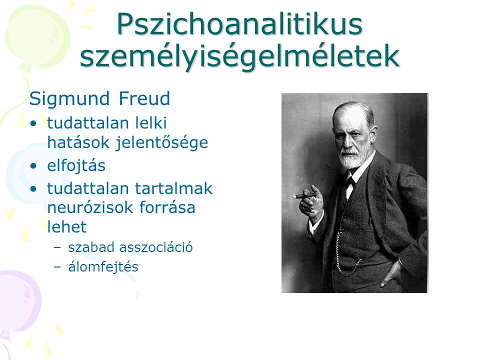 Pszichoanalitikus személyiségelméletek