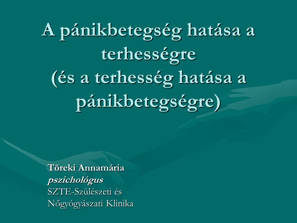 Töreki Annamária pszichológus SZTE-Szülészeti és Nőgyógyászati Klinika