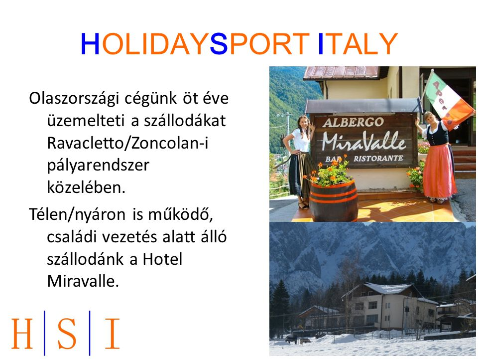 HOLIDAYSPORT ITALY