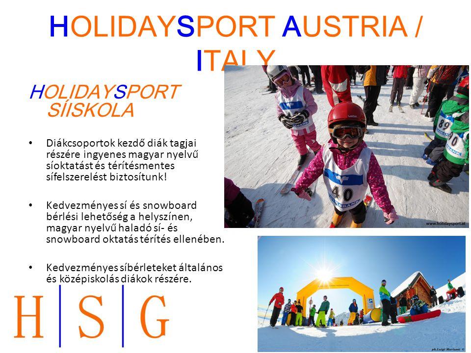 HOLIDAYSPORT AUSTRIA / ITALY