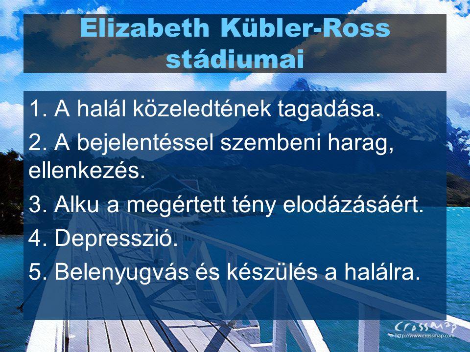 Elizabeth Kübler-Ross stádiumai