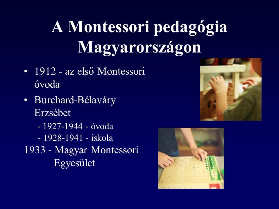 A Montessori pedagógia Magyarországon