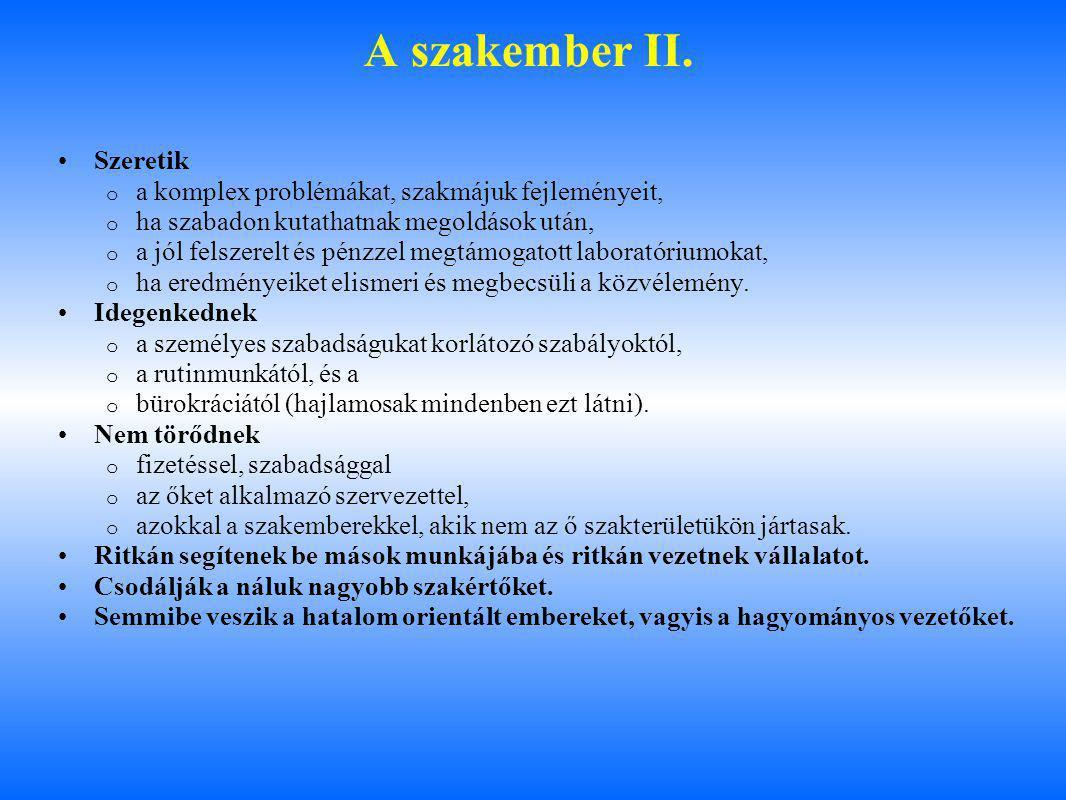 A szakember II. Szeretik