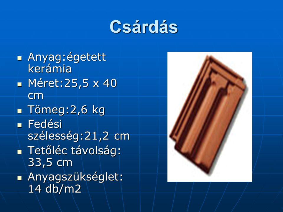 Csárdás Anyag:égetett kerámia Méret:25,5 x 40 cm Tömeg:2,6 kg