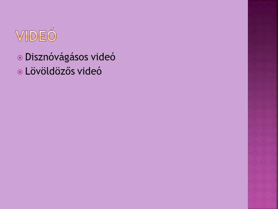 Videó Disznóvágásos videó Lövöldözős videó