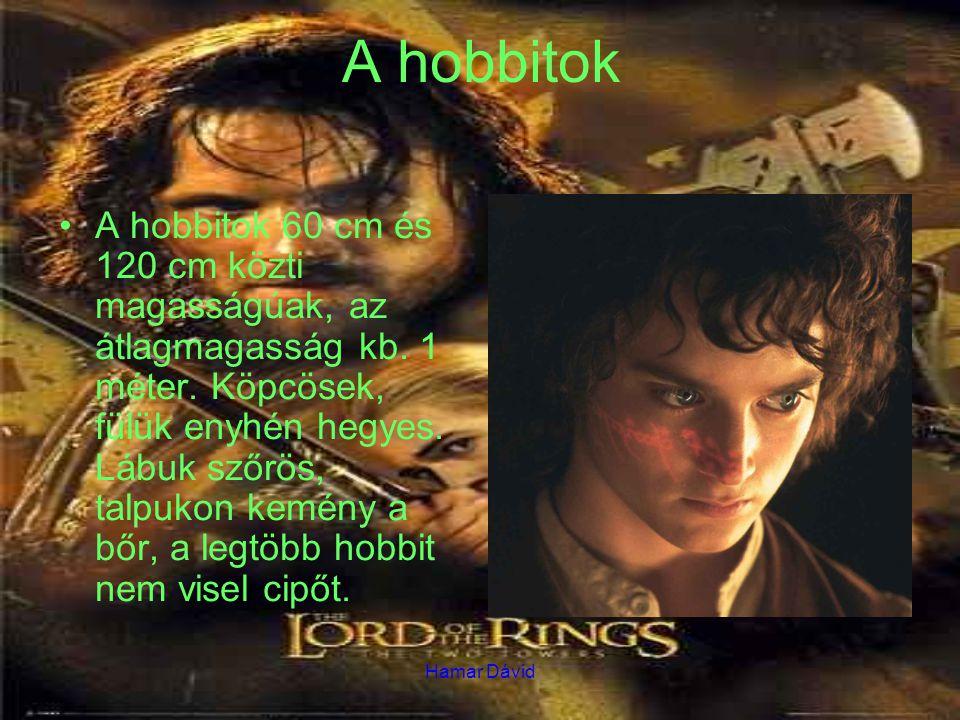 A hobbitok