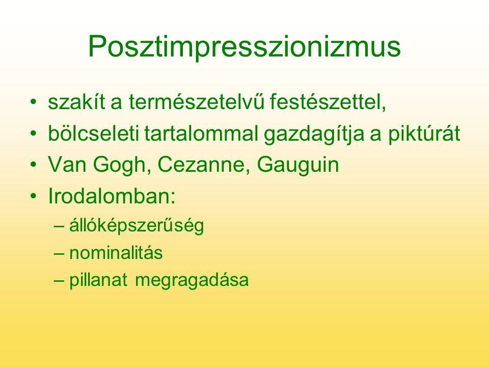 Posztimpresszionizmus