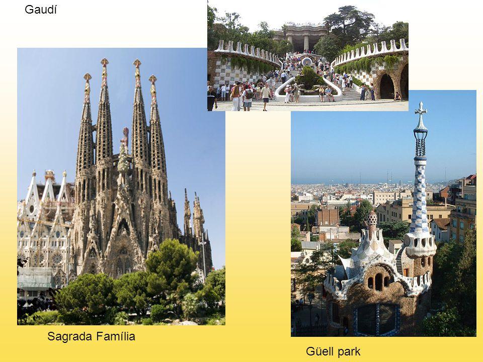 Gaudí Sagrada Família Güell park