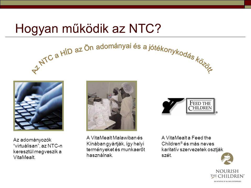 Az NTC a HÍD az Ön adományai és a jótékonykodás között.